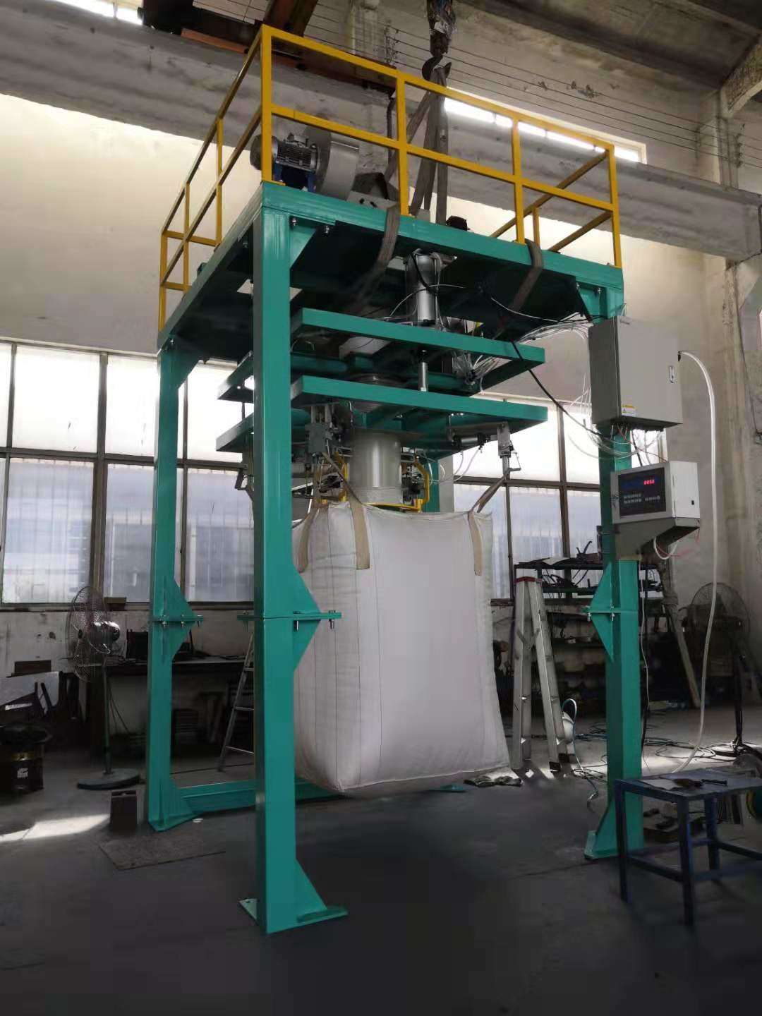500kg - 2000kg Big Bag Weighing Filling Bagging Machine With High Performance